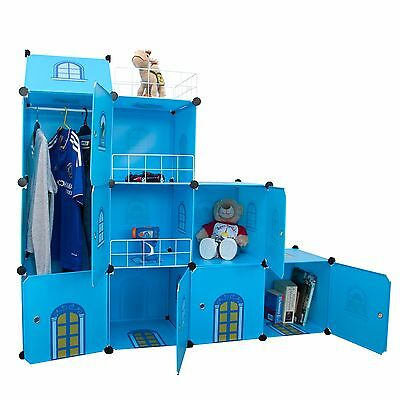 Castle Cubes - Kids Storage and Wardrobe Toy Boxes Storage Shelves Bookcases