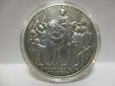 Germany Prussia 1913-A 2 Marks  World - Foreign Silver Coin