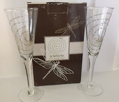 Champagne Glasses, Dragonfly