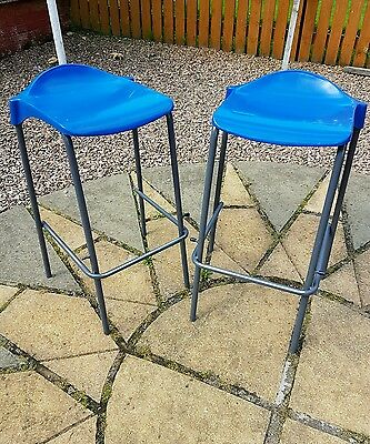 Vintage Stacking Science Lab School Bar Cafe Stool FREE DELIVERY