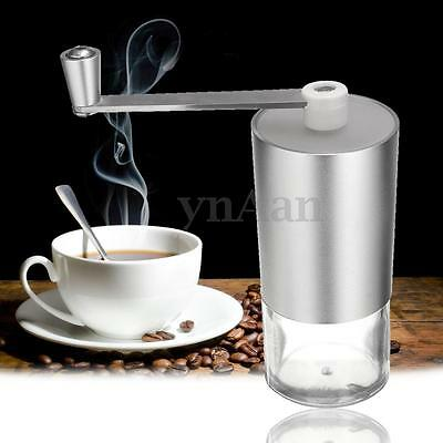 Aluminum Kitchen Hand Manual Grind Coffee Bean Spice Nut Burr Grinder Mill Tool