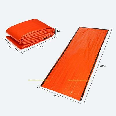 Foil Thermal Space First Aid Emergency Survival Sleeping Bag Blanket 213 * 91cm