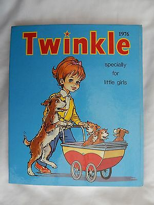 Twinkle Annual Specially For Little Girls 1976 Very Good Used Condition