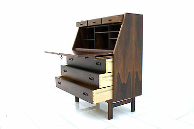 Rare Rosewood Writing Desk by Nils Jonsson, Denmark 1960`s, Table