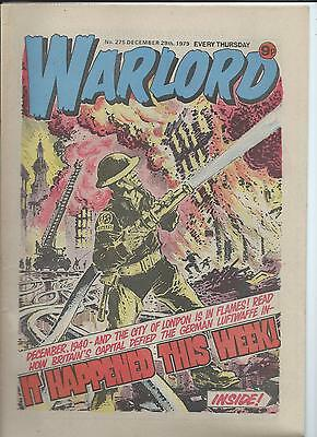 Warlord Comic number 275  December 29th 1979