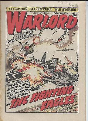 Warlord Comic number 226  January 20th 1979