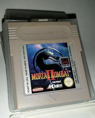 Mortal Kombat 2 for Nintendo Game Boy (with case)