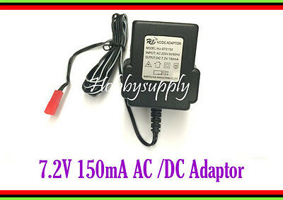 DC 7.2V 150mA AC/DC Adaptor AC 220V 50/60Hz with JST Plug UK Plug charger x 1