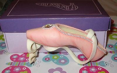 Highly Collectable 'If the Shoe Fits' - Ballet shoe