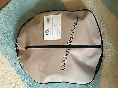 USG Flexi Body Protector Used Once CS Black A Child Small