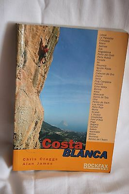 Costa Blanca: Rockclimbing Guide from Rockfax by Alan James, Chris Craggs (Paper