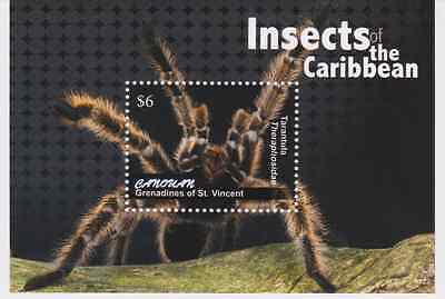 Canouan of St Vincent - Insects, 2011 - 1122 S/S MNH