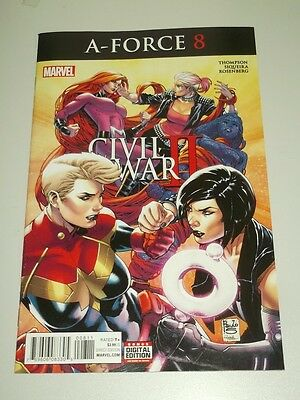 A-Force 8 Marvel Comics Civil War Ii  Nm (9.4)