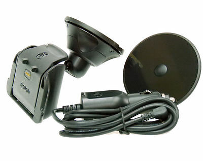 Genuine Car Mount Kit for TomTom Rider v2 Urban Rider & Rider PRO with Charger