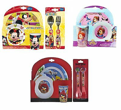 Boys u0026 Girls Character DINNER SETS - Plate/Cup/Bowl/Cutlery (Christmas  sc 1 st  PicClick UK & SET OF Cup u0026 Cutlery Disney the Lion King Baby Feeding Drinking ...