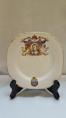 King Edward VIII 1937 Coronation Plate