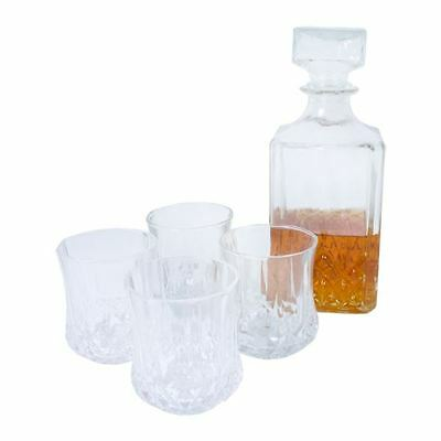 Glass Whiskey Decanter Set Gift Alcohol Christmas Bottle Sherry Brandy Liqueur