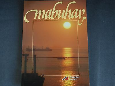 Philippine Airlines Mabuhay Inflight Magazine June 1987