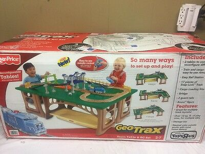 Fisher-Price Geotrax Train Table And RC Set Brand New Rare!!
