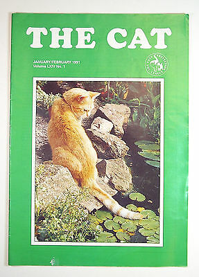 THE CAT - CATS PROTECTION LEAGUE MAGAZINE JAN/FEB 1991 Vol LXIV No.1