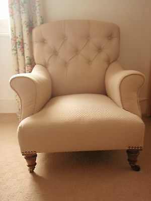 Edwardian Library/Reading Chair