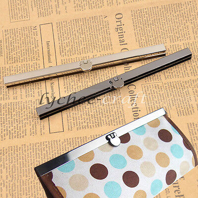 Frame Bar Edge Strip Clasp Bag Purse Handle Openable Handle DIY Replacement 19cm