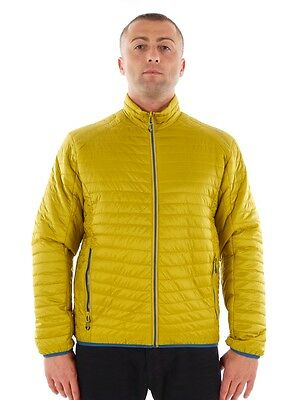 CMP Functional jacket Outdoor jacket Quilted jacket yellow Primaloft Thinsulate