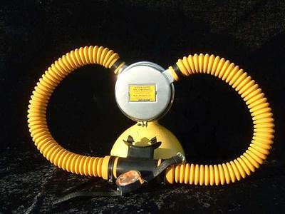 Double Hose Regulator US Divers Voit Hoses YELLOW Silicone