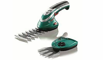 Bosch Isio Cordless Electric Grass Hedge Cutters BNIB