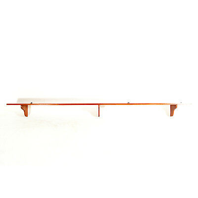 Retro Vintage Danish Design Teak Large Wall Shelf Bookcase Book Shelves 60s 70s