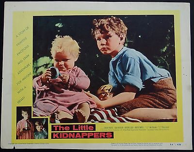 Set 8 Vintage The Little Kidnappers 1954 Western Lobby Movie Film Cards Posters