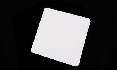 Transparent Clear Static Cling Permit Holder Tax Disc Holder - 1 film Piece