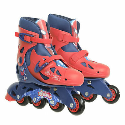 Marvel Ultimate Spiderman Inline Skates Roller Blades Adjustable