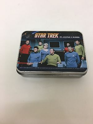 Star Trek Picture Playing Cards in a Tin