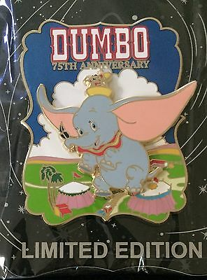 Disney Pin Dumbo 75Th Anniversary W Timothy The Mouse Wdi Cast Exclusive Le 250