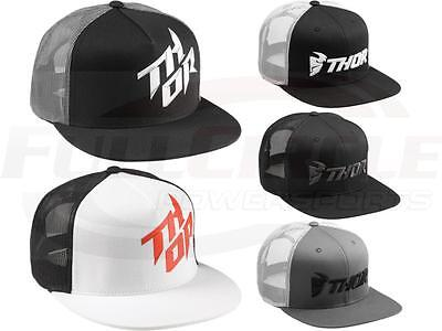 Thor MX Snapback Mesh Trucker Hat Adjustable Snap Back Adult Size Casual Cap