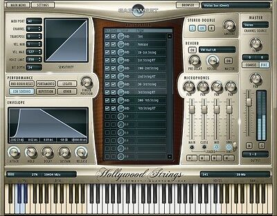 EastWest Hollywood Strings - Gold Edition Virtual Strings Instrument AAX VST AU