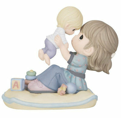 Mother Baby Precious Moments Figurine A Love As High As The Sky NWOB Toys Blocks