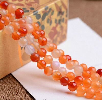 """natural agate beads gemstone round loose Spacer bead 6mm 8mm 10mm 15"""""""