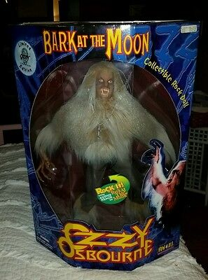 OZZY OSBOURNE Bark at the Moon Collectible Rock Doll #04204 of 50,000 limited