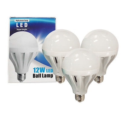 12W LED Bulb Lamp for Pool Billiard Light Bulbs Replacement - Set of 3 AU Stock