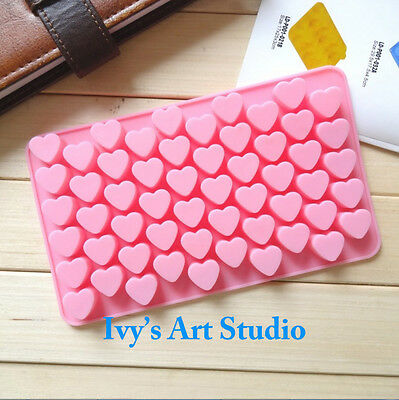 Cute Heart Choc Candy Bar Silicone Ice Tray Candy Chocolate Cake Jelly Mold