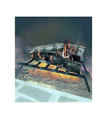 Steel Fireplace Grate w 7 Bars - 30 inches Length [ID 2728]