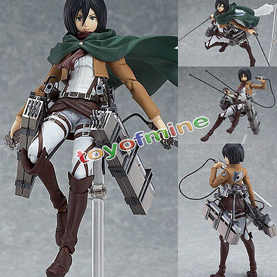 Hot Anime Attack on Titan  Mikasa Ackerman Action Figure Shingeki no Kyojin