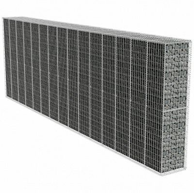 Gabion Wall with Cover 600 x 50 x 200 cm