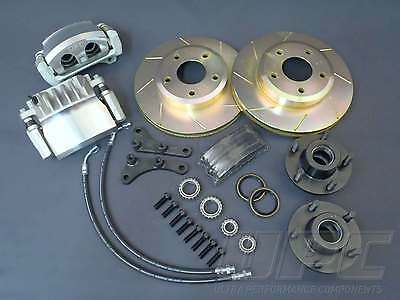 Ford Mustang Big Brakes Gt Shelby 64 To 69 Drum Front To Disc Kit Xm Xp Falcon
