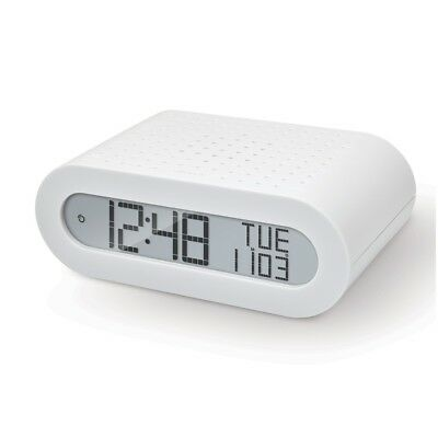 Oregon scientific RRM116 Radiowecker digital LCD-Display Kalender Snooze wh