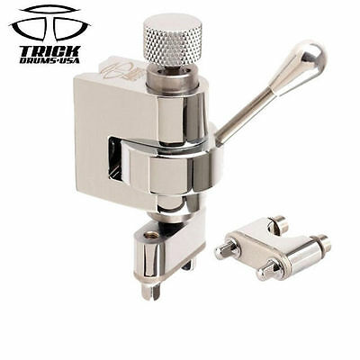 Trick GS007 Chrome Snare Drum Throw Off Professional Multi Step Mechanism