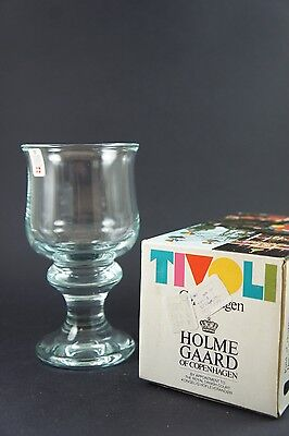 Holmegaard Tivoli - Beer Glass - 20+ available - New in Box - NOS