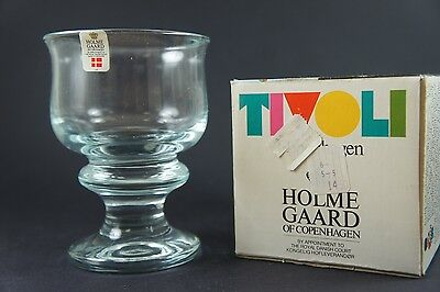 Holmegaard Tivoli - Red Wine Glass - 15+ available - New in Box - NOS